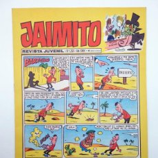 Tebeos: JAIMITO REVISTA JUVENIL N.º 1256. (VVAA) EDITORIAL VALENCIANA, 1973. Lote 108809715