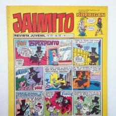 Tebeos: JAIMITO REVISTA JUVENIL N.º 1257. (VVAA) EDITORIAL VALENCIANA, 1974. Lote 108809719