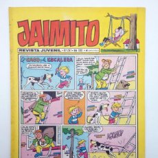 Tebeos: JAIMITO REVISTA JUVENIL N.º 1267. (VVAA) EDITORIAL VALENCIANA, 1974. Lote 108809743