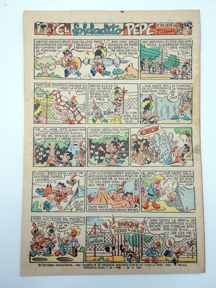 Tebeos: JAIMITO REVISTA JUVENIL N.º 611. (VVAA) Editorial Valenciana, 1961 - Foto 2 - 108809331