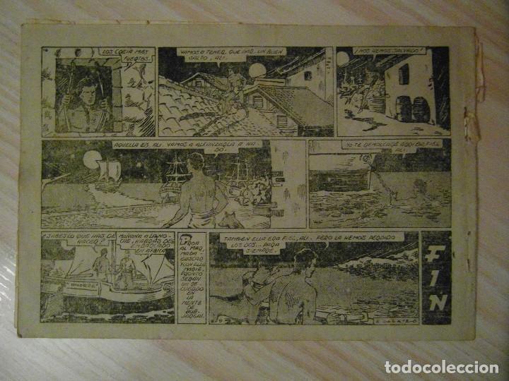Tebeos: La rebelion de los negros. Nº 11 de seleccion aventurera. Editorial Valenciana. 1941 - Foto 2 - 108919331