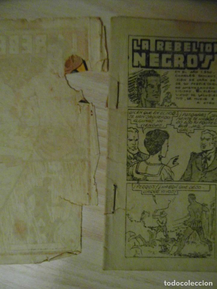 Tebeos: La rebelion de los negros. Nº 11 de seleccion aventurera. Editorial Valenciana. 1941 - Foto 3 - 108919331
