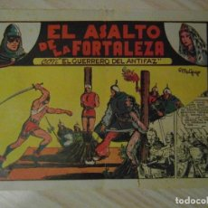 Tebeos: EL ASALTO DE LA FORTALEZA. Nº 6 DE EL GUERRERO DEL ANTIFAZ. EDITORIAL VALENCIANA. 1944. M. GAGO. Lote 108931415