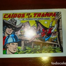 Tebeos: EL ESPADACHÍN ENMASCARADO. Nº 54 : CAÍDOS EN LA TRAMPA. - 2ª ED. 1982. Lote 108993695