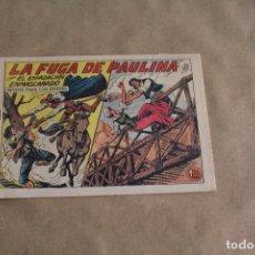 Tebeos: EL ESPADACHÍN ENMASCARADO Nº 225, EDITORIAL VALENCIANA. Lote 109041239