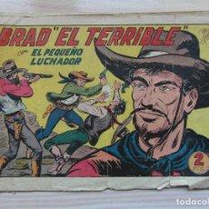 Tebeos: BRAD EL TERRIBLE. Nº 180 E EL PEQUEÑO LUCHADOR. 1945. M. GAGO. Lote 109158323