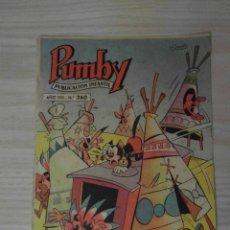 Tebeos: Nº 260 DE PUMBY. EDITORIAL VALENCIANA. 1962. MARIO SBATELLA. Lote 109206011