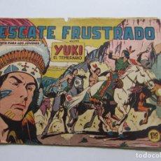 Tebeos: YUKI EL TEMERARIO Nº 13. VALENCIANA 1958 ORIGINAL CSADUR86. Lote 109357839