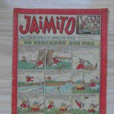 Tebeos: JAIMITO Nº 319 AÑO X. EDITORIAL VALENCIANA. 1955. Lote 109456707