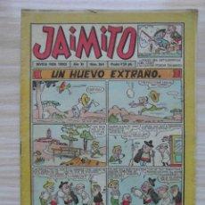 Tebeos: JAIMITO Nº 364 AÑO XI. EDITORIAL VALENCIANA. 1956. Lote 109456947
