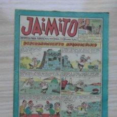 Tebeos: JAIMITO Nº 510 AÑO XIV. EDITORIAL VALENCIANA. 1959. Lote 109457543