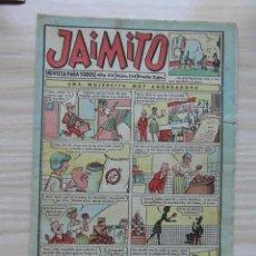 Tebeos: JAIMITO Nº 554 AÑO XV. EDITORIAL VALENCIANA. 1960. Lote 109458443