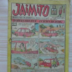 Tebeos: JAIMITO Nº 652 AÑO XVII. EDITORIAL VALENCIANA. 1962. Lote 109459319