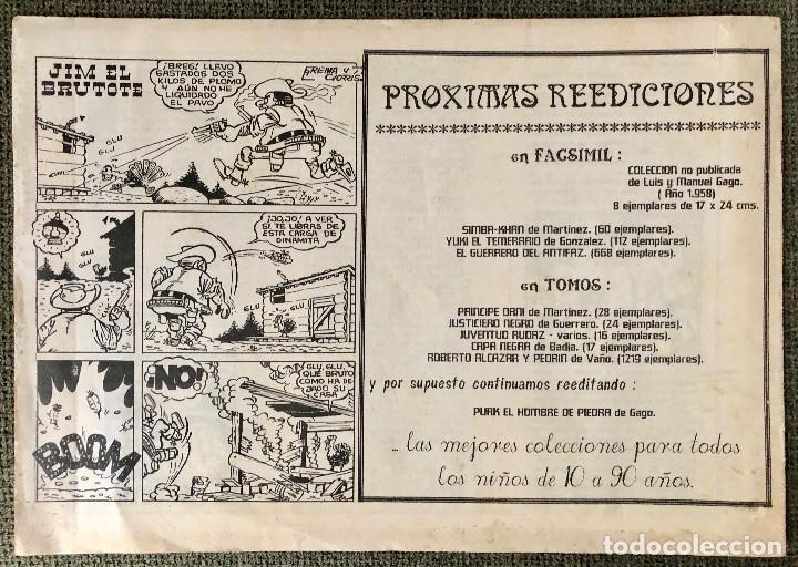Tebeos: EL PEQUEÑO LUCHADOR. BUFALO NEGRO. HISTORIA DE UNA REEDICION - Foto 3 - 110139267
