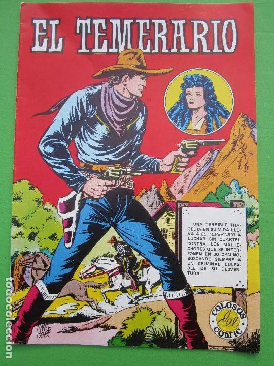 EL TEMERARIO , NUMERO 1 , COLOSOS DEL COMIC , VALENCIANA 1981 (Tebeos y Comics - Valenciana - Colosos del Comic)