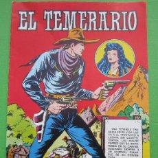 Tebeos: EL TEMERARIO , NUMERO 1 , COLOSOS DEL COMIC , VALENCIANA 1981. Lote 110260099