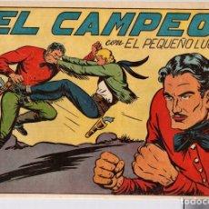 Giornalini: EL PEQUEÑO LUCHADOR. EL CAMPEÓN. Nº 90. EDITORIAL VALENCIANA. ORIGINAL. Lote 110879151