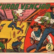 Giornalini: EL PEQUEÑO LUCHADOR. EL ZURDO VENCIDO. Nº 118. EDITORIAL VALENCIANA. ORIGINAL. Lote 110879748
