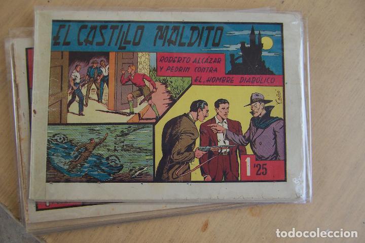 Tebeos: Valenciana, lote 26 nº roberto alcázar contra el hombre diabólico - Foto 5 - 53541884
