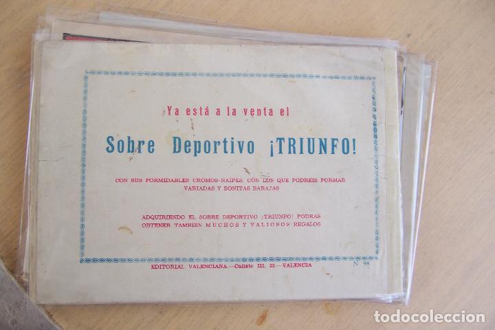Tebeos: Valenciana, lote 26 nº roberto alcázar contra el hombre diabólico - Foto 6 - 53541884