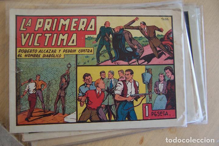 Tebeos: Valenciana, lote 26 nº roberto alcázar contra el hombre diabólico - Foto 7 - 53541884