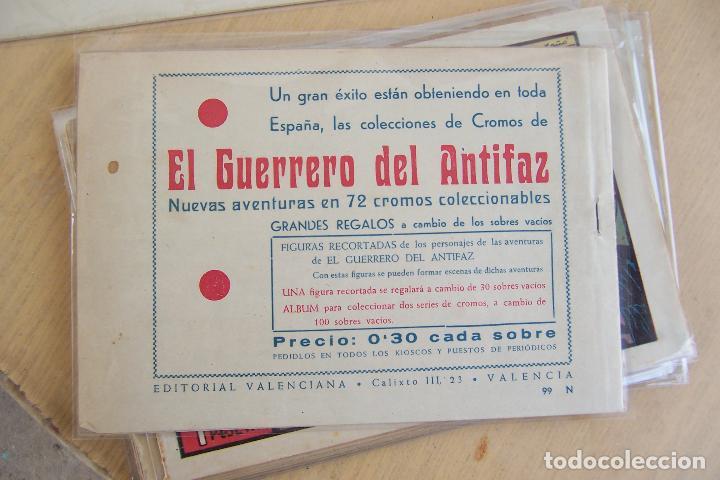 Tebeos: Valenciana, lote 26 nº roberto alcázar contra el hombre diabólico - Foto 8 - 53541884