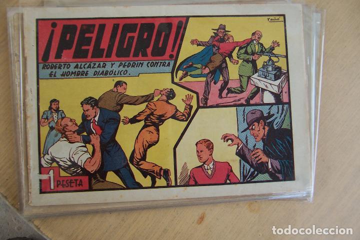Tebeos: Valenciana, lote 26 nº roberto alcázar contra el hombre diabólico - Foto 9 - 53541884