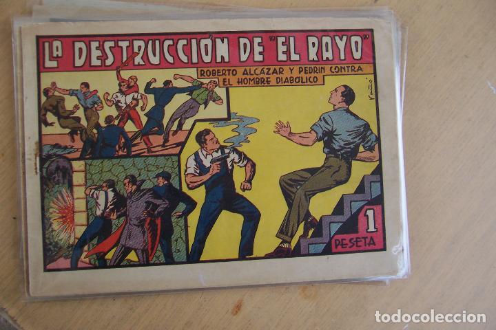 Tebeos: Valenciana, lote 26 nº roberto alcázar contra el hombre diabólico - Foto 13 - 53541884