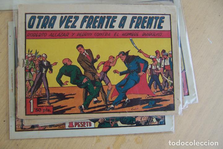 Tebeos: Valenciana, lote 26 nº roberto alcázar contra el hombre diabólico - Foto 29 - 53541884
