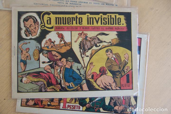Tebeos: Valenciana, lote 26 nº roberto alcázar contra el hombre diabólico - Foto 43 - 53541884