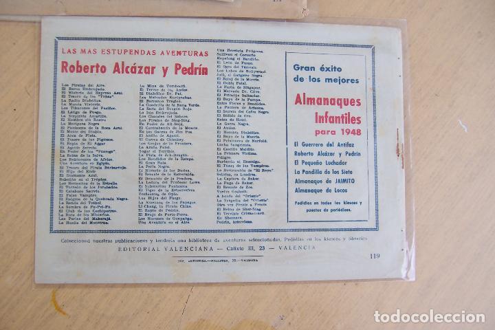Tebeos: Valenciana, lote 26 nº roberto alcázar contra el hombre diabólico - Foto 46 - 53541884