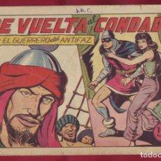 Tebeos: VALENCIANA - EL GUERRERO DEL ANTIFAZ - DE VUELTA AL CONDADO 132. Lote 110984491