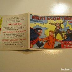 Tebeos: ROBERTO ALCAZAR Y PEDRÍN 1219, 1976, VALENCIANA ULTIMO DE LA COLECCION, MUY BUEN ESTADO VER FOTOS. Lote 111068843