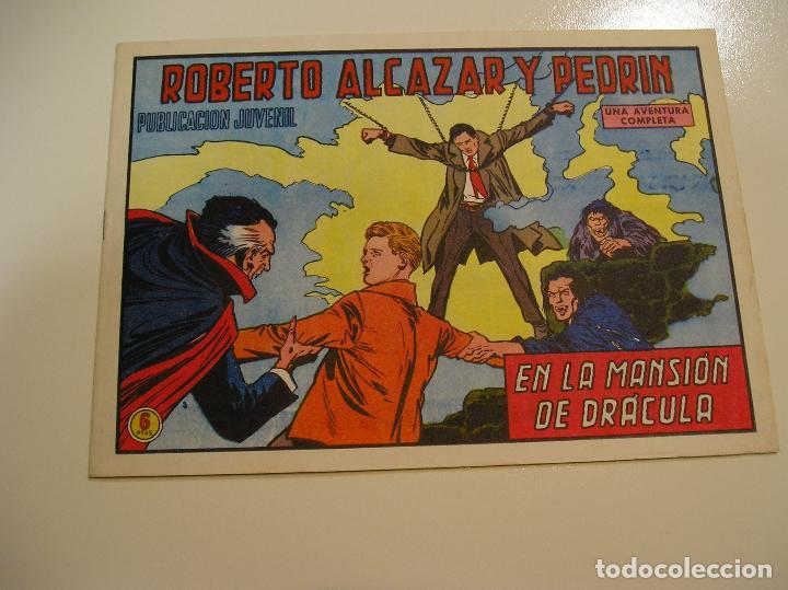 Tebeos: Roberto Alcazar y Pedrín 1219, 1976, Valenciana ultimo de la coleccion, muy buen estado ver fotos - Foto 2 - 111068843
