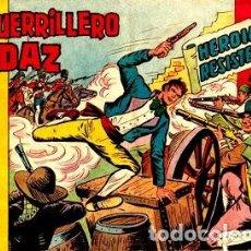 Tebeos: EL GUERRILLERO AUDAZ-9, DE MANUEL GAGO (VALENCIANA, 1962). Lote 111111799