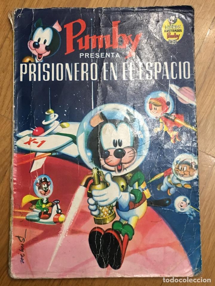 PUMBY - PRISIONERO EN EL ESPACIO - 1968 (Tebeos y Comics - Valenciana - Pumby)