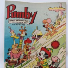 Tebeos: PUMBY PUBLICACION INFANTIL Nº 432- 1965. Lote 111675291