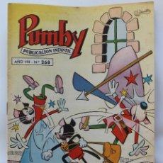 Tebeos: PUMBY PUBLICACION INFANTIL Nº 268- 1962. Lote 111675663