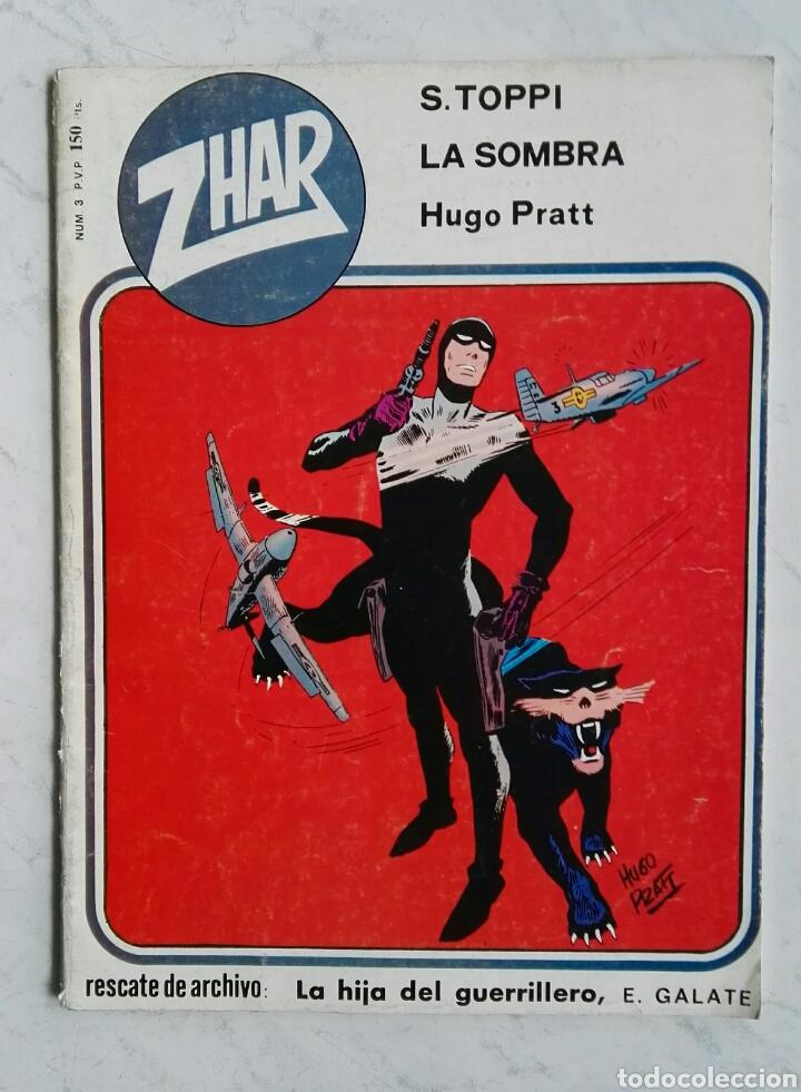 ZHAR N° 3 LA SOMBRA S. TOPPI HUGO PRATT EDITORA VALENCIANA 1983 (Tebeos y Comics - Valenciana - Otros)