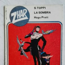 Tebeos: ZHAR N° 3 LA SOMBRA S. TOPPI HUGO PRATT EDITORA VALENCIANA 1983. Lote 111830106
