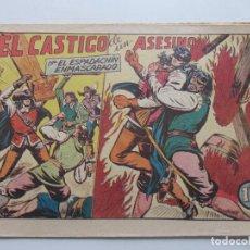 Tebeos: EL ESPADACHIN ENMASCARADO Nº 50. ORIGINAL. VALENCIANA MUYBUEN ESTADO C95SADUR. Lote 112325323