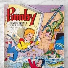 Tebeos: PUMBY - Nº 1125 - ED. VALENCIANA - 1981. Lote 112696395