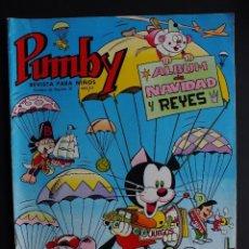 Tebeos: PUMBY ALBUM DE NAVIDAD Y REYES 1966 EDITORIAL VALENCIANA. Lote 112718771