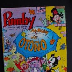 Tebeos: PUMBY ALBUM DE OTOÑO 1966 EDITORIAL VALENCIANA. Lote 112798531