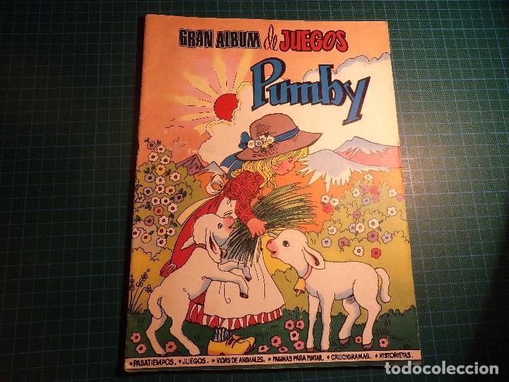 GRAN ALBUM DE JUEGOS PUMBY. Nº 52. VALENCIANA. (M-14) (Tebeos y Comics - Valenciana - Pumby)