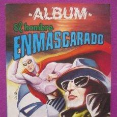 Tebeos: TEBEO, ALBUM EL HOMBRE ENMASCARADO, 4 NUMEROS, Nº 227-228-229-230. Lote 112897899