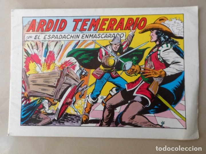 ARDID TEMERARIO - EL ESPADACHIN ENMASCARADO Nº 49 - POSIBLE ENVÍO GRATIS (Tebeos y Comics - Valenciana - Espadachín Enmascarado)
