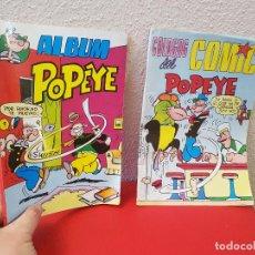 Tebeos: LOTE 2 COMIC EDITORA VALENCIANA ALBUM POPEYE 10 1981 COLOSOS DEL COMICS Nº 38. Lote 113073295