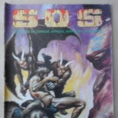 Tebeos: SOS (S.O.S.) Nº 44 -POSIBLE ENVÍO GRATIS -VALENCIANA- HISTORIAS TERROR, INTRIGA, MISTERIO Y SUSPENSE. Lote 113074155