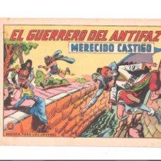 Tebeos: EL GUERRERO DEL ANTIFAZ Nº 625- ORIGINAL. Lote 113090267